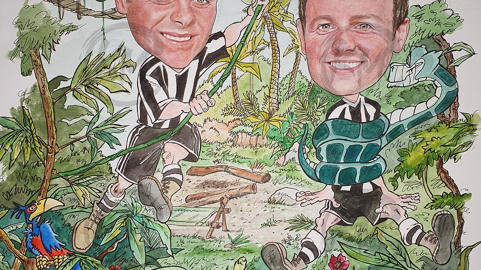 Ant & Dec Jungle Print