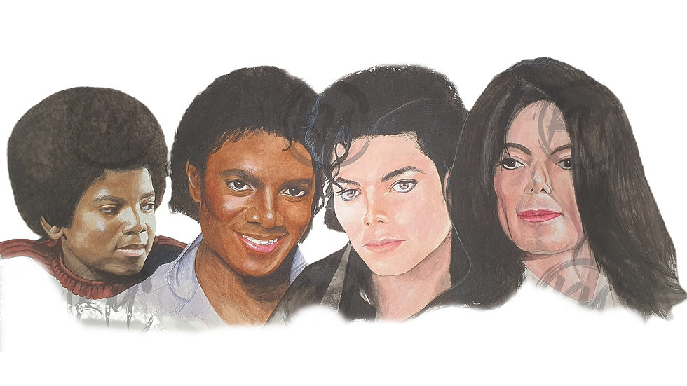 Michael Jackson Legacy Print