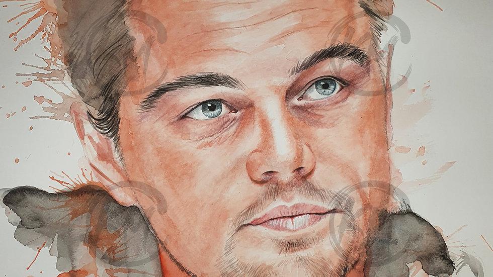 Leonardo DiCaprio Print