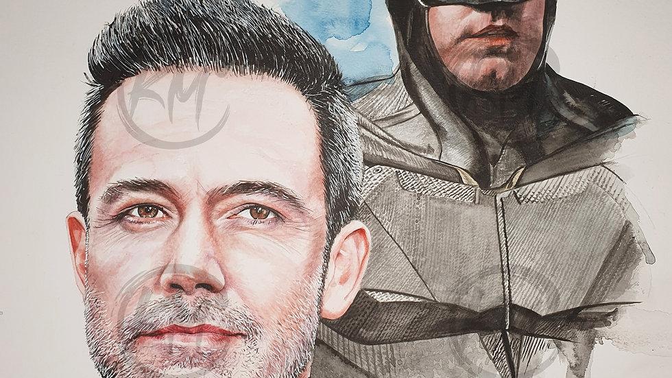 Affleck Batman Print