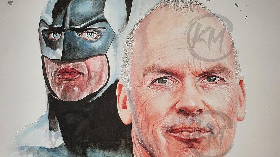 Keaton Batman Print