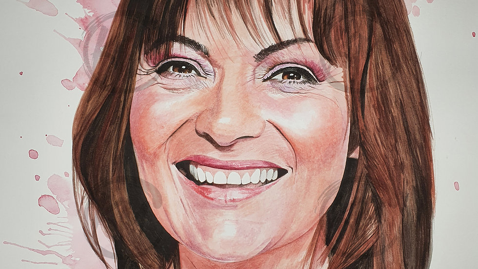 Lorraine Kelly Print