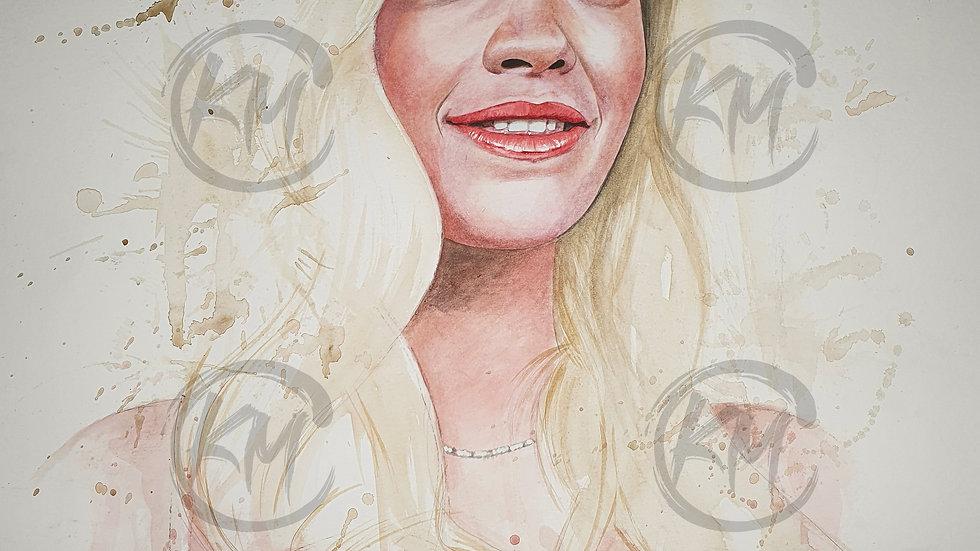 Rita Ora Print