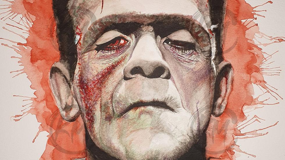 Frankenstein's Monster Print