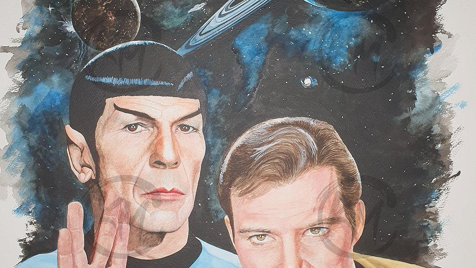 Star Trek Original Era Print
