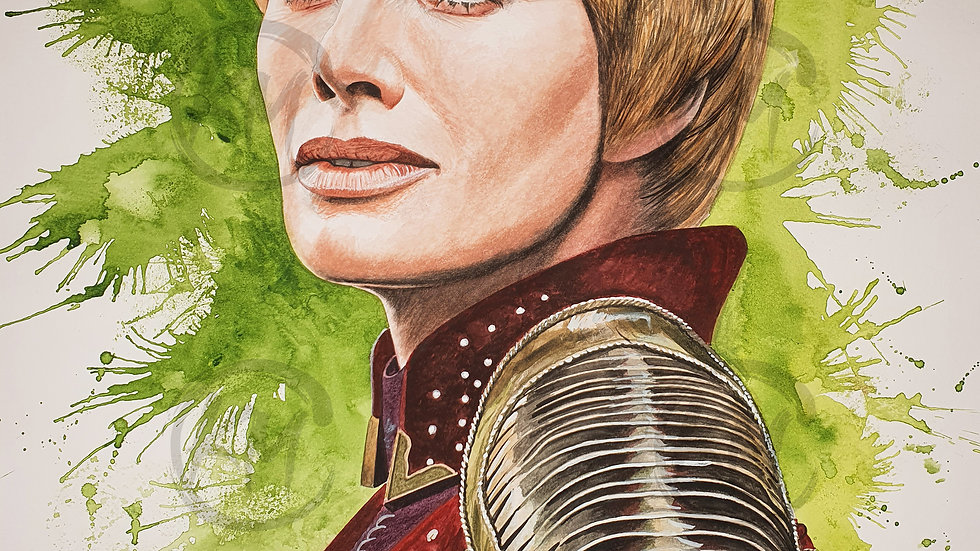 Cersei Lannister Print