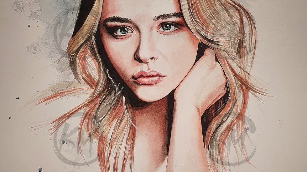 Chloë Grace Moretz Print