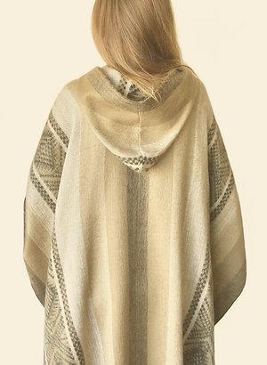 Alpaca Soft Gold Poncho