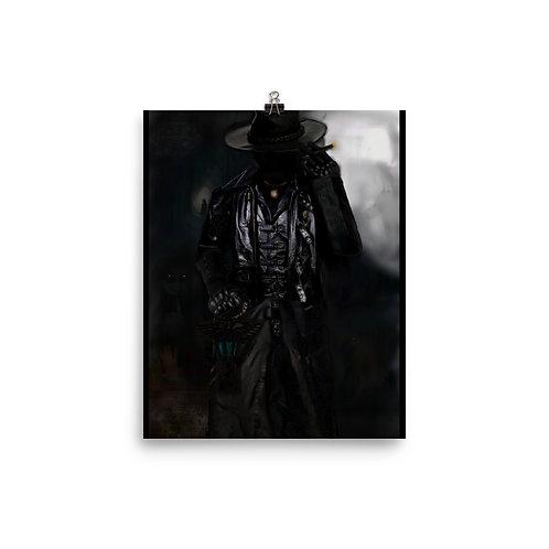 The Stranger - Photo paper poster