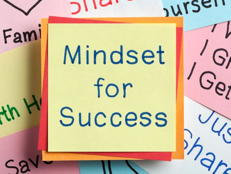 Mindset Matters - Will it matter in 3 years?