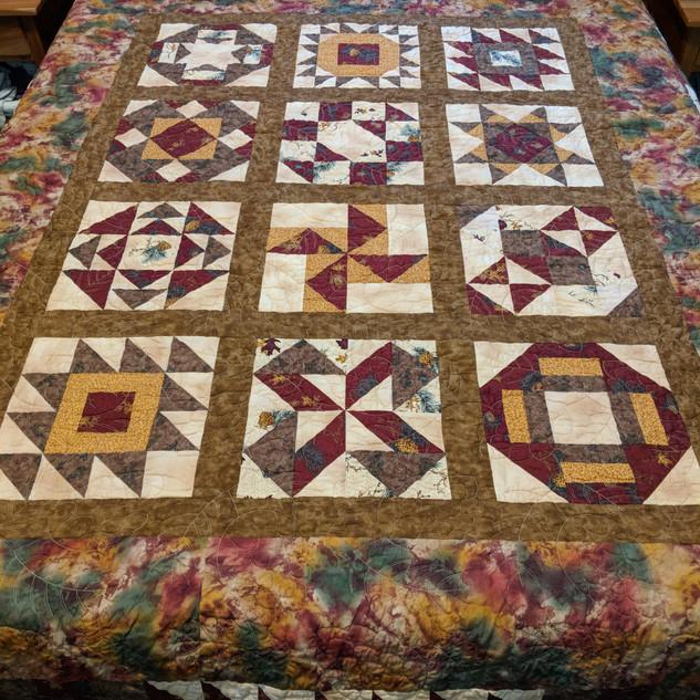 Pioneer sampler quilt