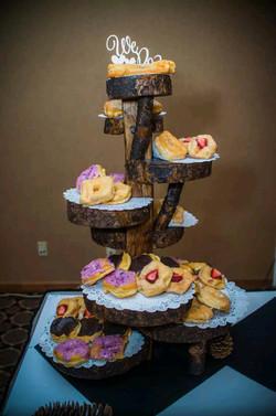 Reception dessert stand