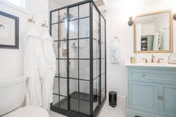 Owl Airbnb Classy Shower & Bath
