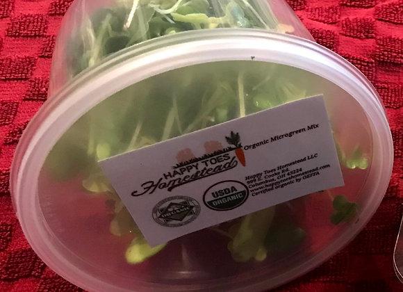 Organic Microgreen Blend (1 oz)