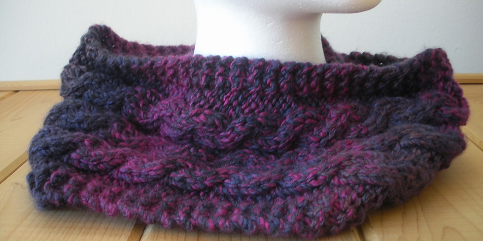 Able Cable Cowl with Robin Henne of Wandering Woolies