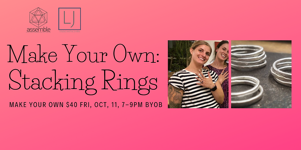Make Your Own: Stacking Rings