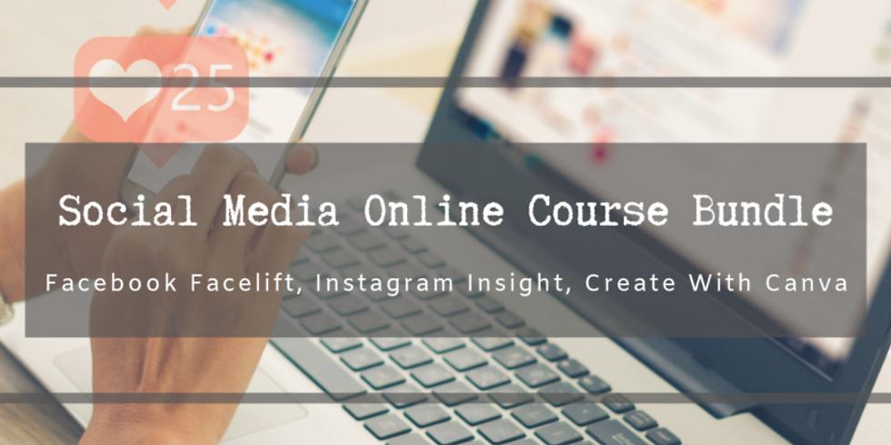 Social Media Online Course Bundle