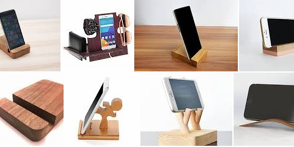 Woodshop Class ipad/iphone Holder