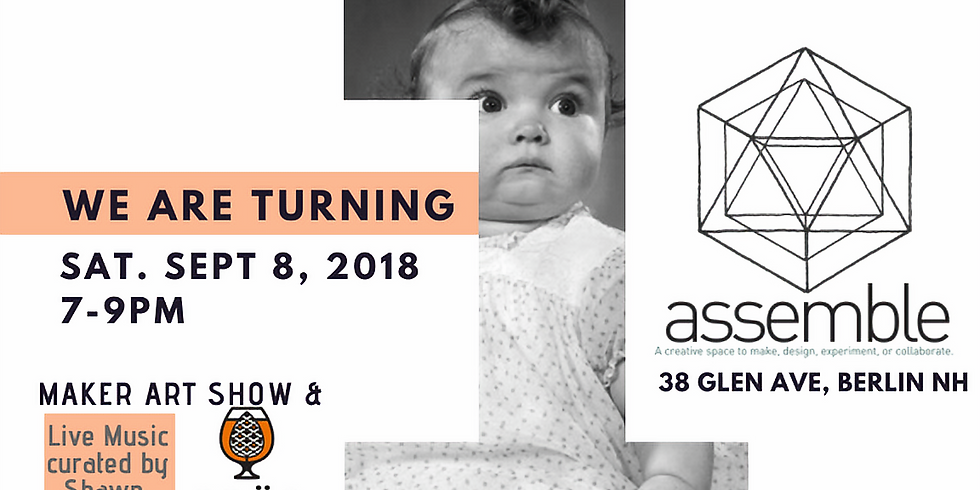 Assemble's first Birthday Party!