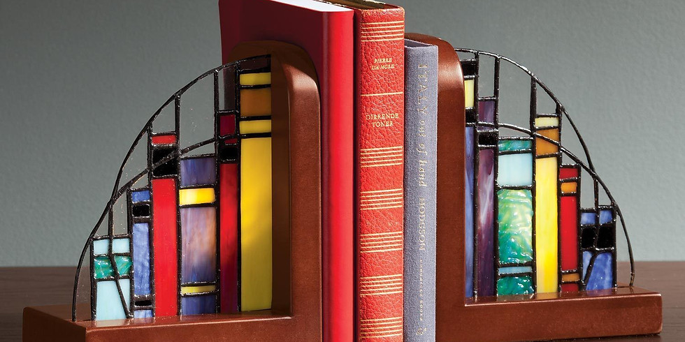 Stained glass bookends - 2 night class!