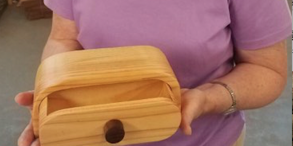 Woodshop Class Small Trinket Box