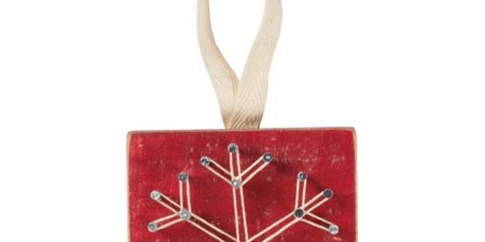 String Art Christmas Ornaments