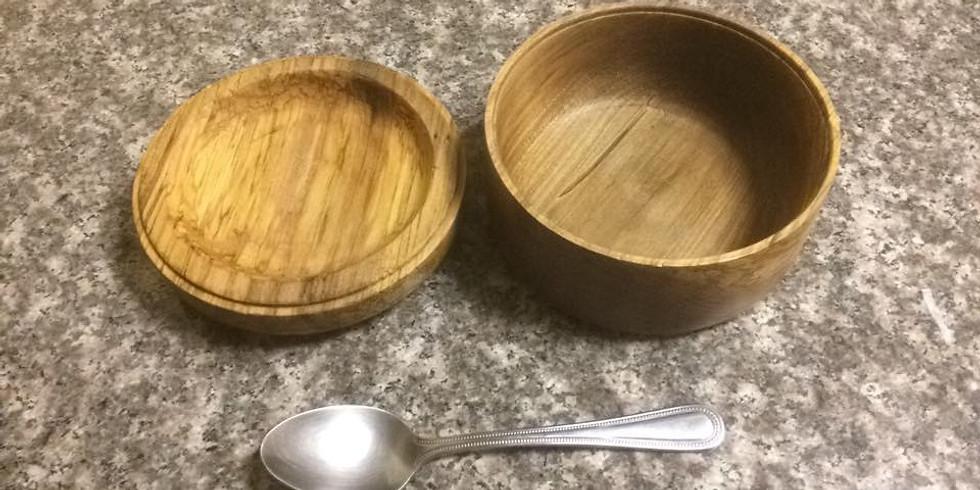 Wood turned finger bowls