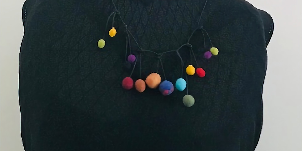 Felted Bead Necklace with Beth Harwood