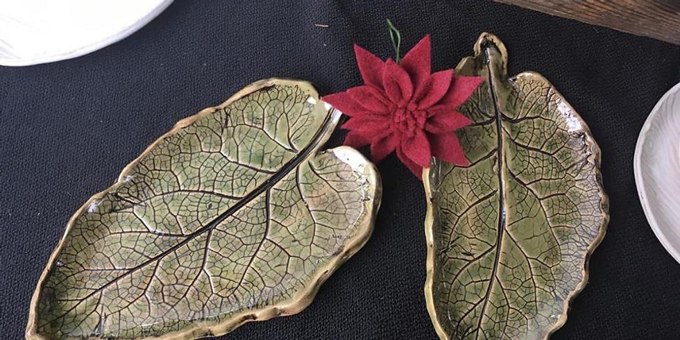 Clay Traveler: Leaf Plates in Jackson!