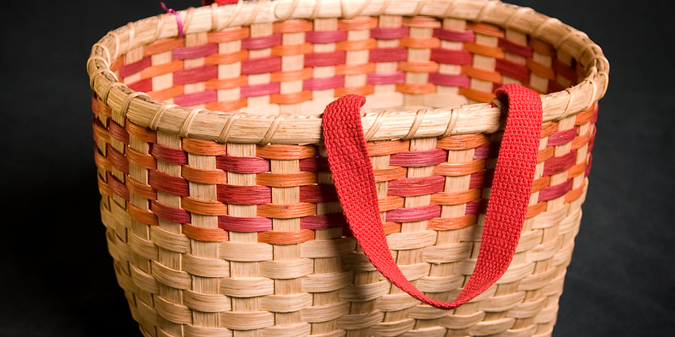 Farmer's Market Tote Basket with Linda Lomasney of Deeda's Baskets