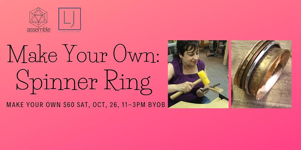 Spinner Ring ~ Make Your Own