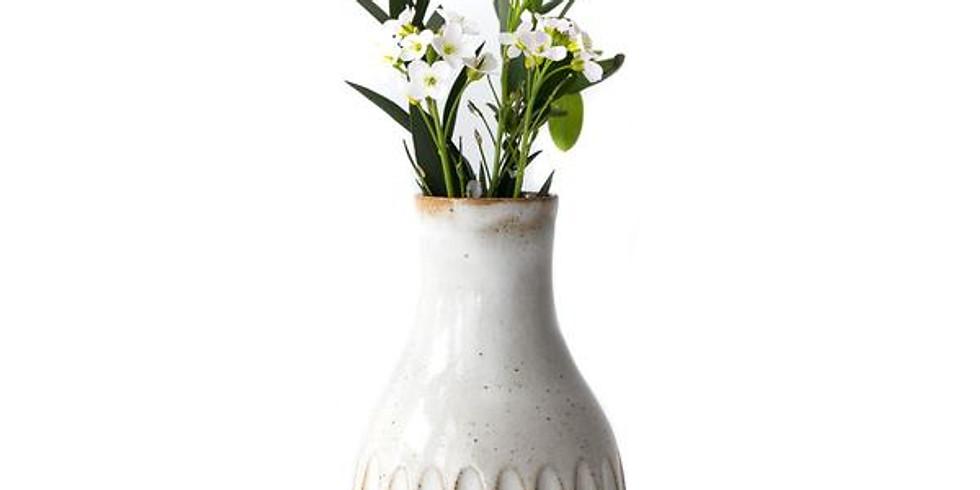 Clay Bud Vase