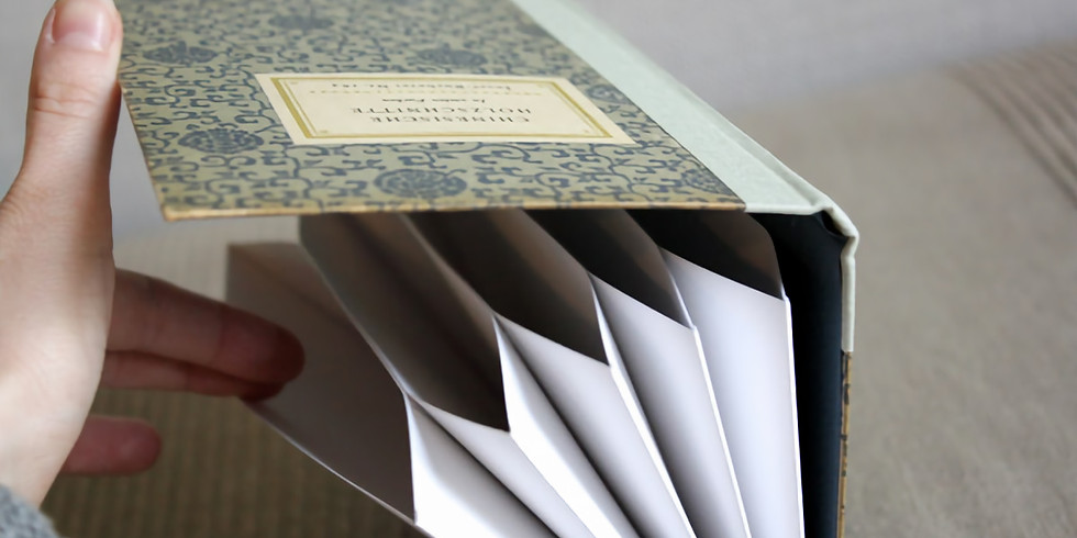 Upcycle Accordian Book with Christina Lefebvre