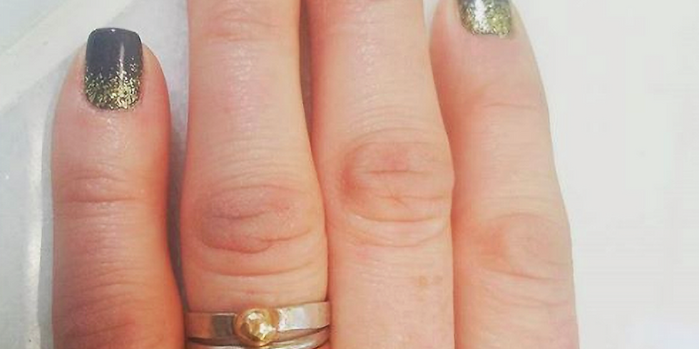 Make Your Own: Embellished Simple Ring