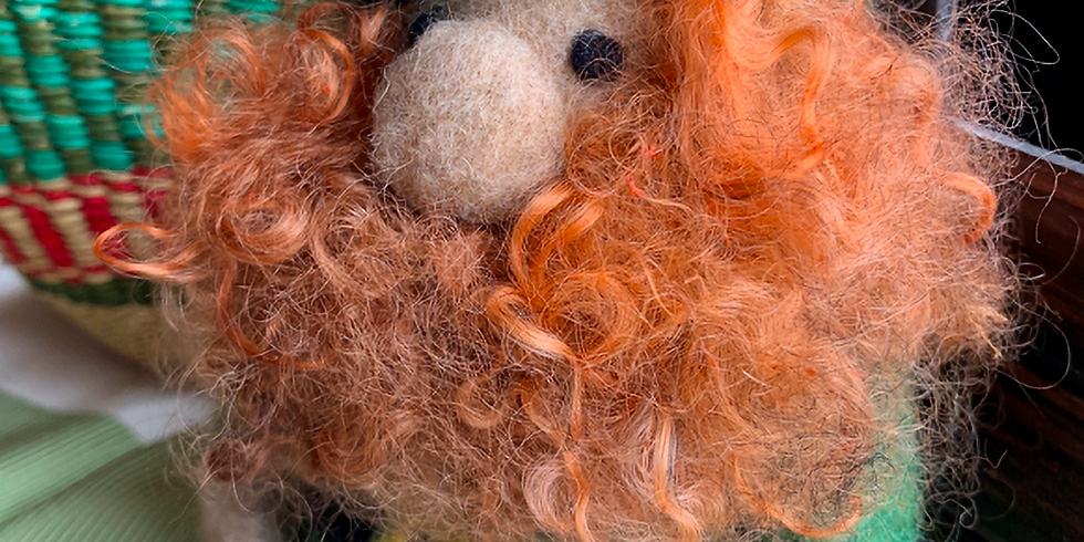 Needle Felted Leprechauns with Robin Henne of Wandering Woolies