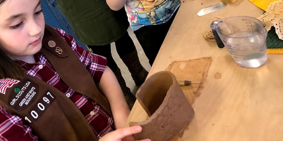 Kids Clay Texture Mugs