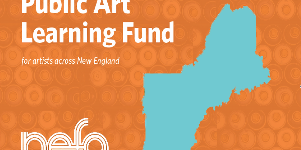 Public Art Learning Fund - Information Session