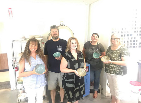 Empty Bowls: Fighting Senior Hunger one bowl at a time.