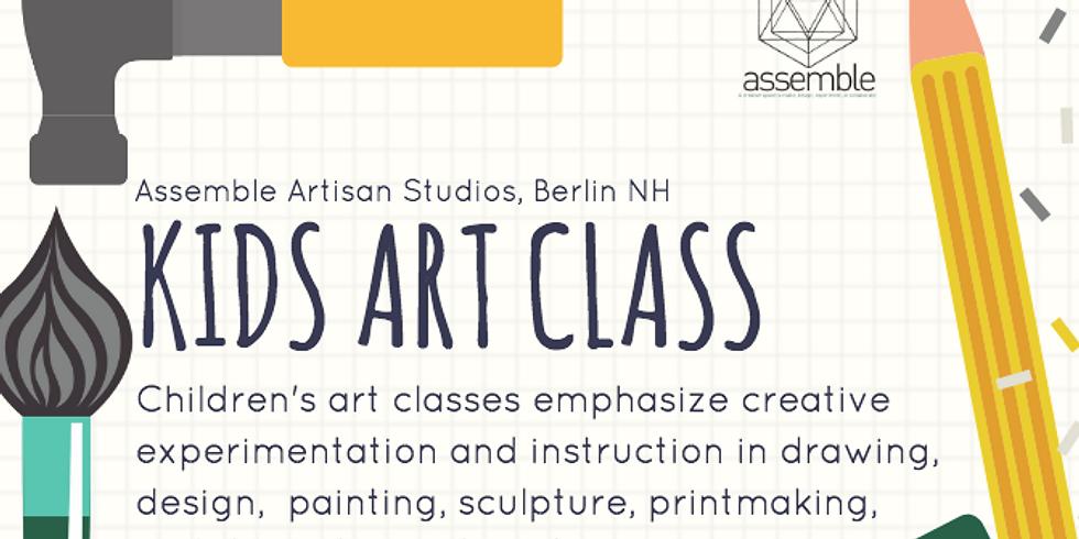 Kids Art Class (2 of 6)