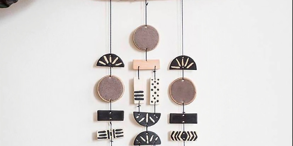 Clay Wall Hanging w/ Kelsey