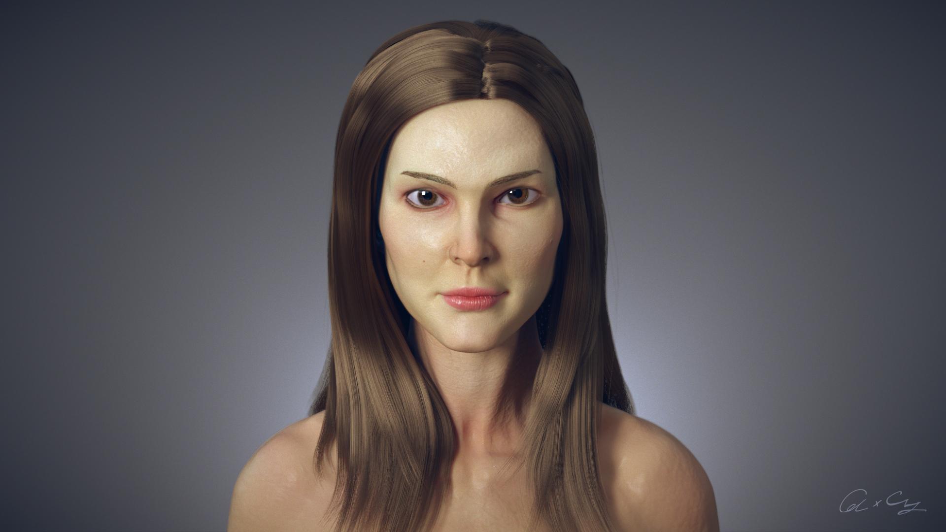 FEMALE HEAD STUDY
