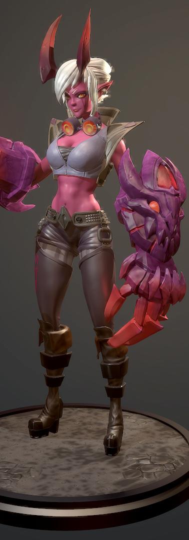 Demon VI Fan Art