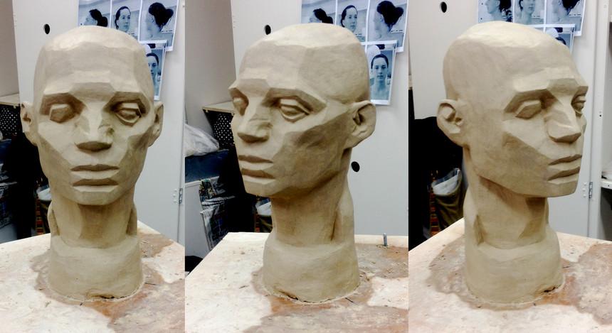 Head Sculpture study