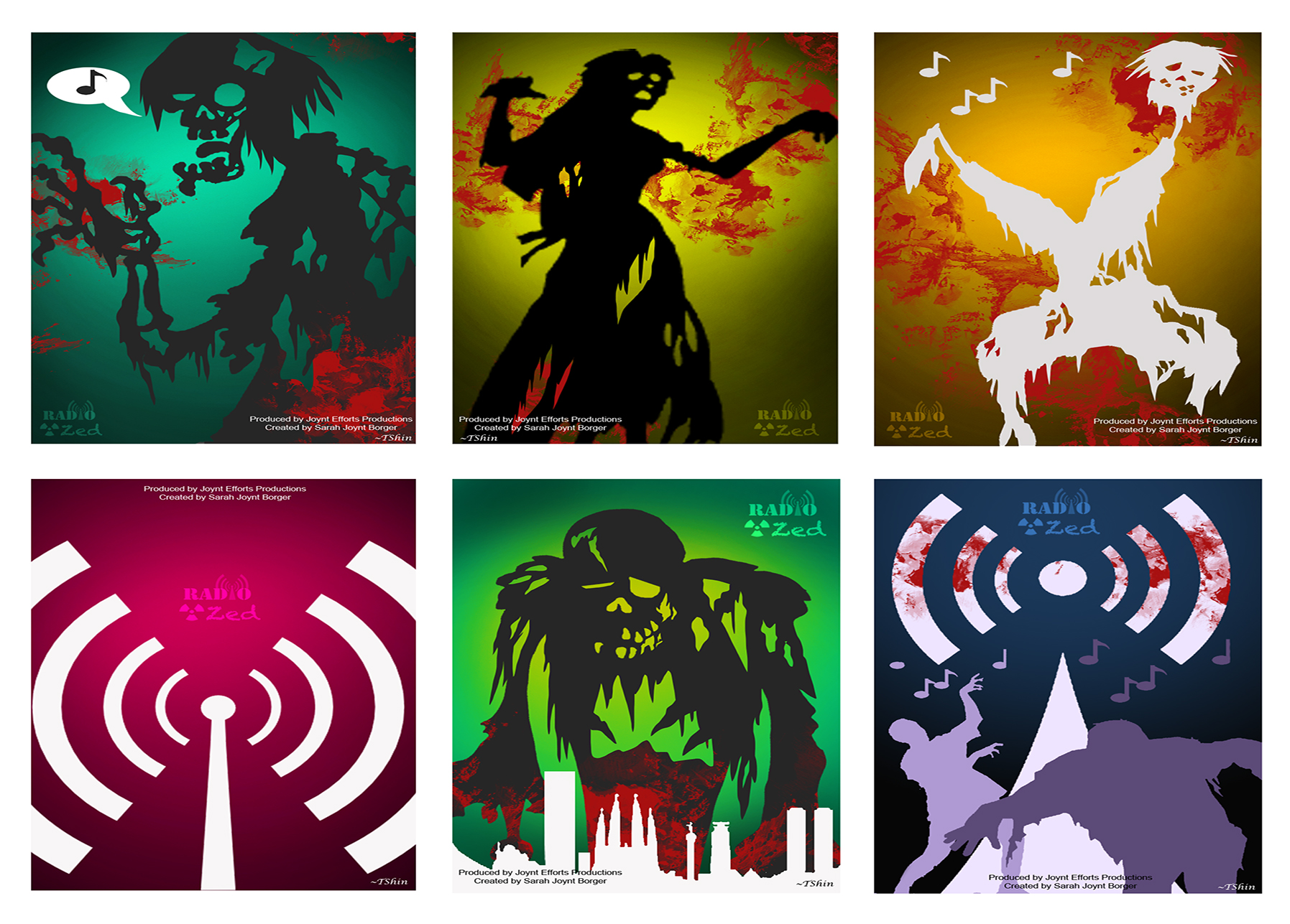 All Six Posters