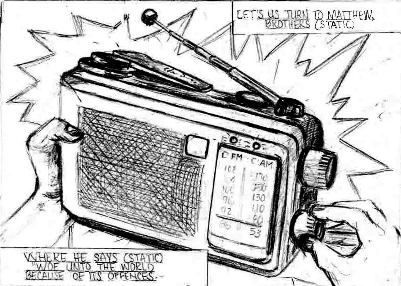Radio Signal 5 X 5