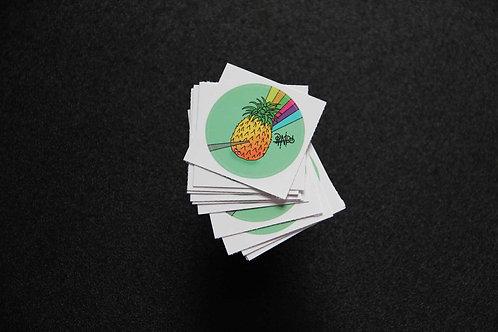 Sticker | Happy Pineapple