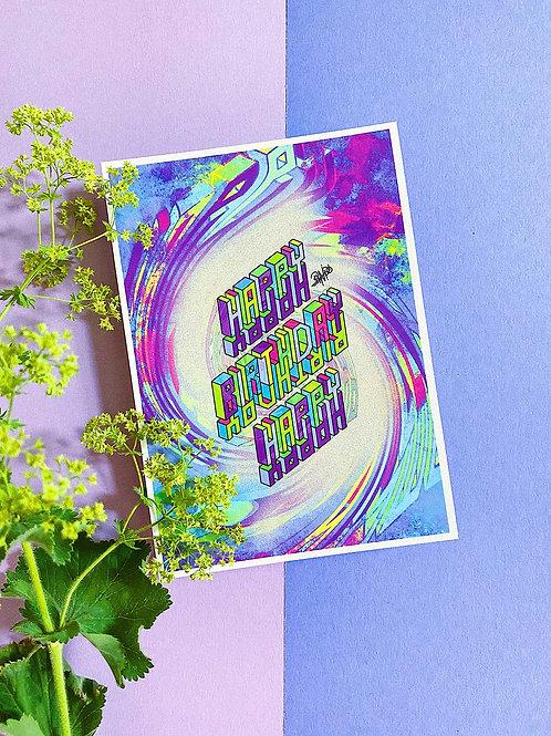 Luxe Card | Happy Birthday