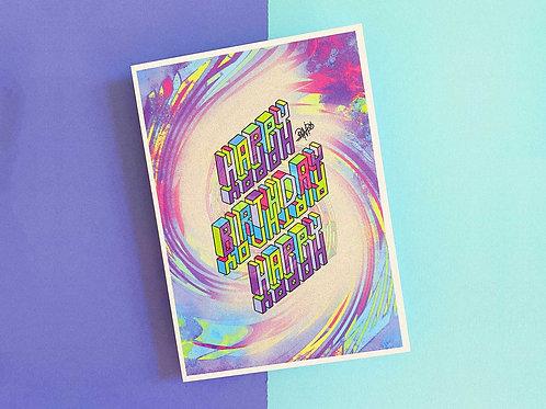Postkarte | Happy Birthday