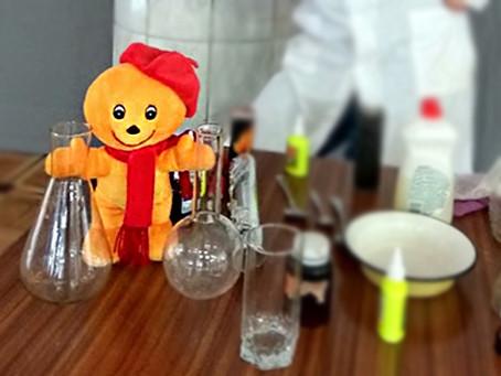 Химический эксперимент «Вулкан»