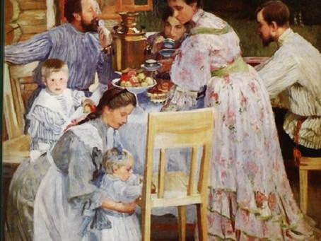 Семья в русском изобразительном искусстве